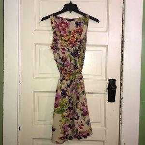 Express summer floral dress L